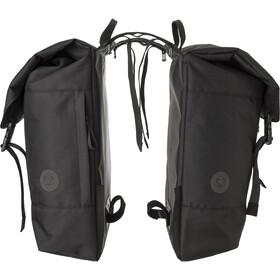 AGU Urban DWR Double Pannier Bag MIK, czarny